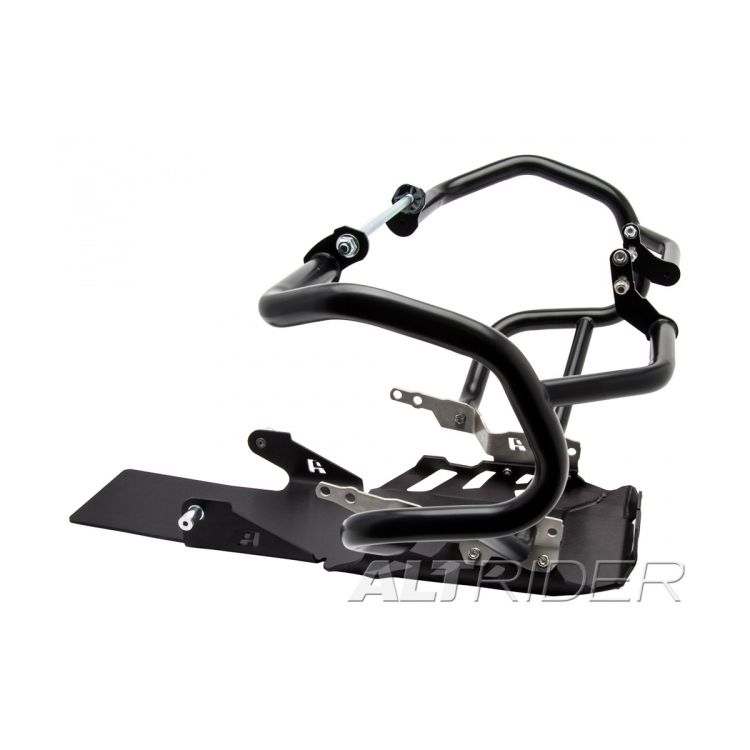 Black Crash Bars / Black Skid Plate