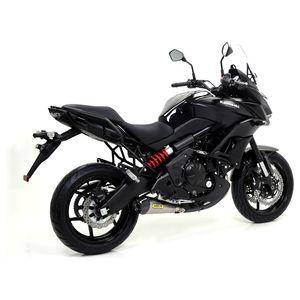 akrapovic racing exhaust system kawasaki ninja 650 / er6n   10% ($90 50)  off! - revzilla