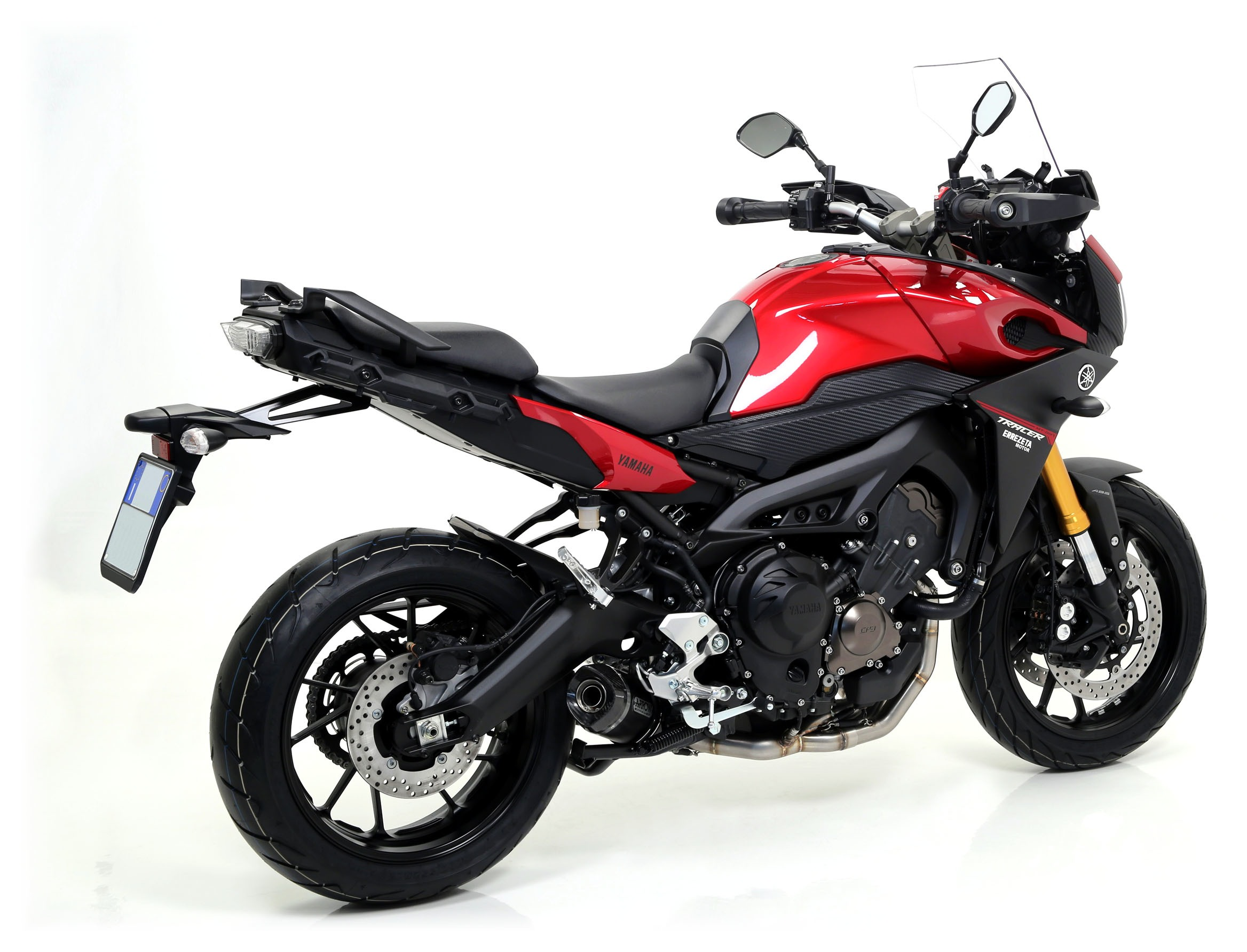Confirmed By Akrapovic Anium Exhaust For Fz09 Fits The Xsr900