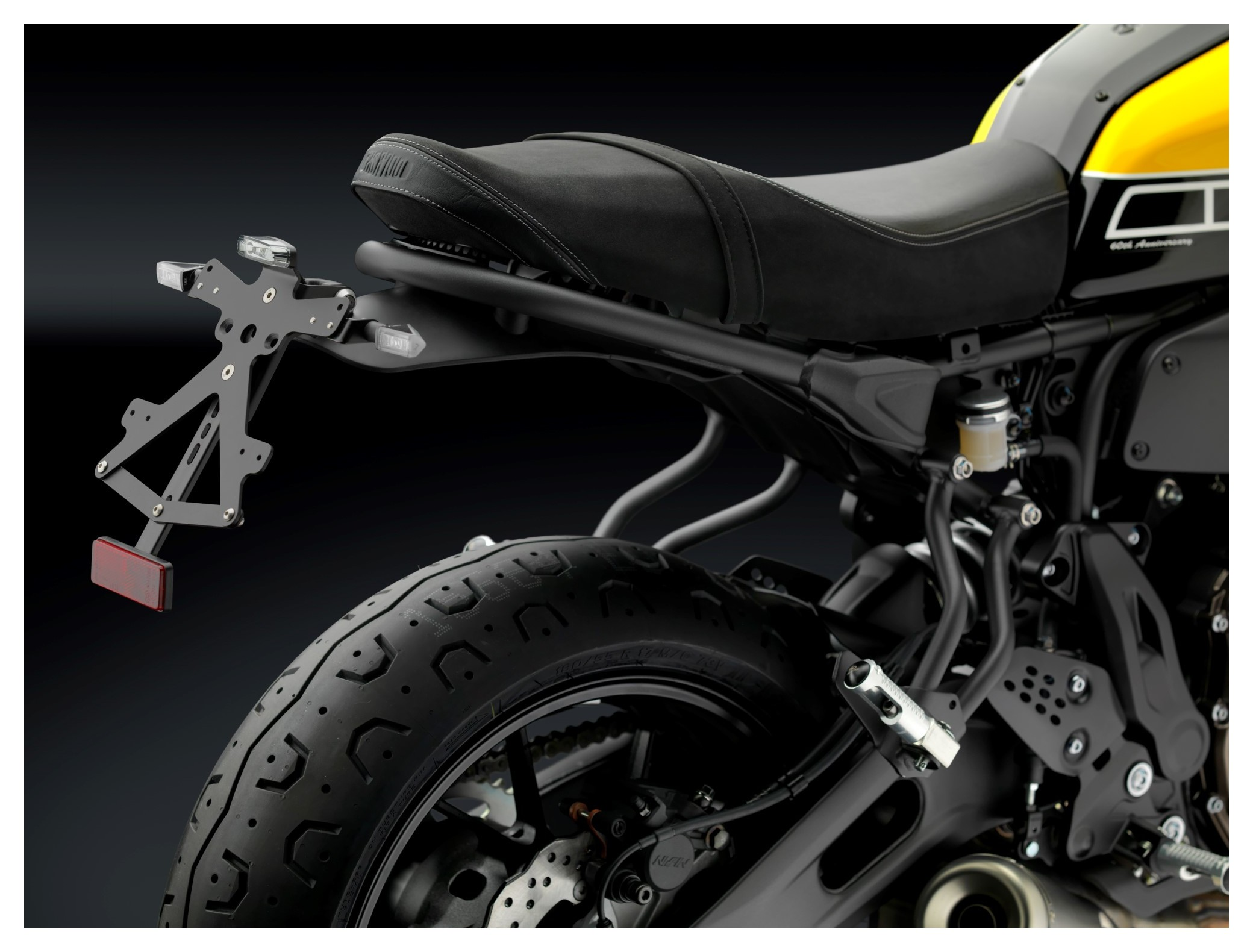 Color : Black XIAOFANG Fit for Yamaha XSR700 2015 2016 2017 2018 2020 2019 Tail Tidy Fender Eliminator Kit Licence Support de Plaque Support XSR 700 2015-2020