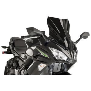 Puig Racing Windscreen Kawasaki Ninja 650 2017 2018
