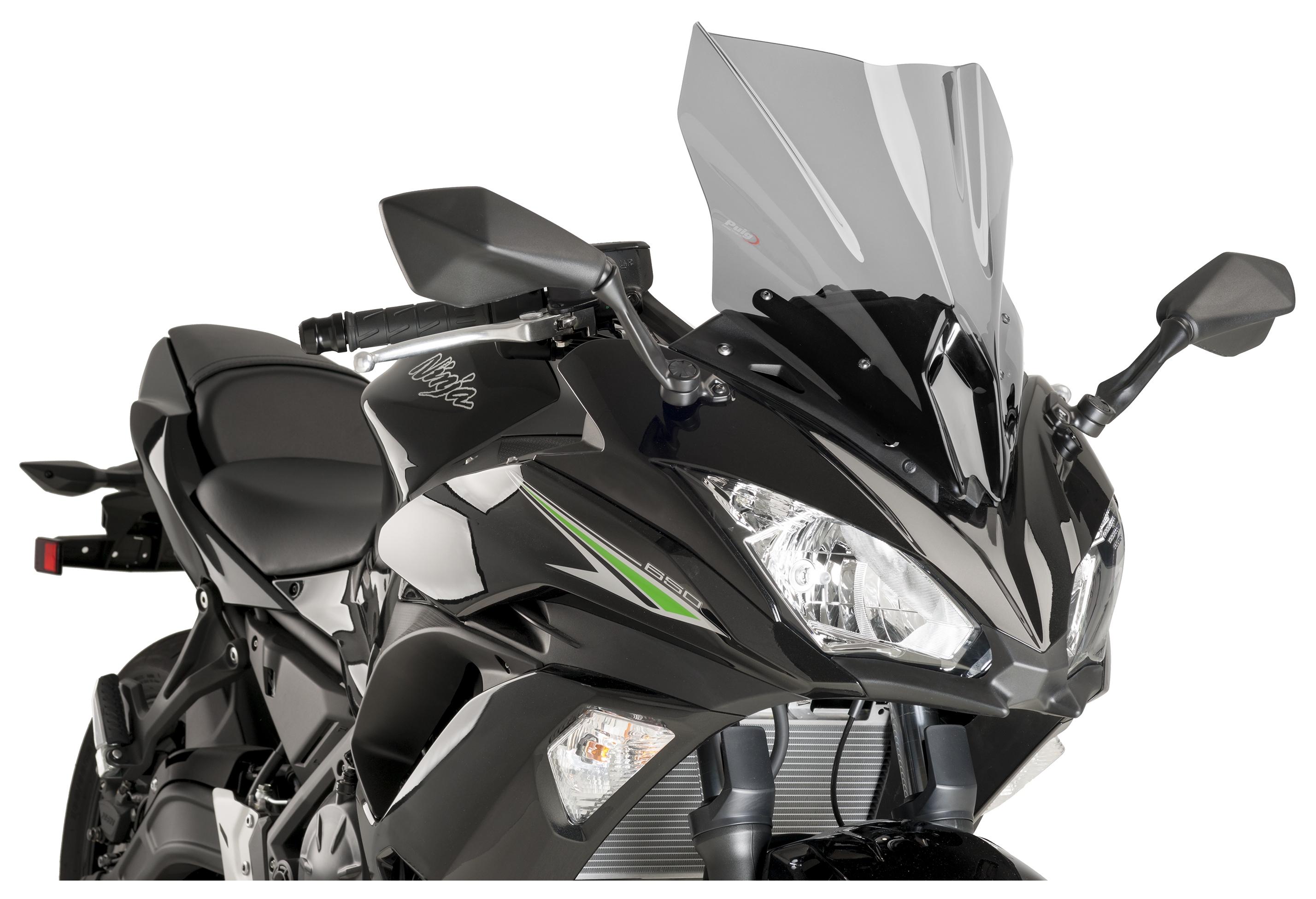 Puig Racing Windscreen Kawasaki Ninja 650 2017 2019 5 480 Off