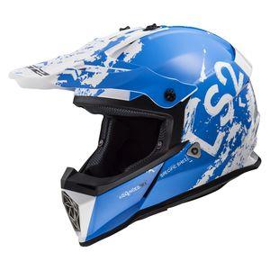 LS2 Youth Fast Mini V2 Spot Helmet