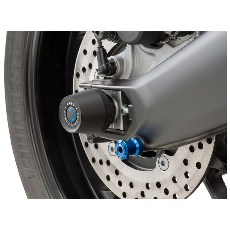 Puig Axle Sliders Rear Suzuki GSXR 1000 / R 2017-2019