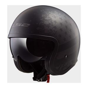 LS2 Spitfire Black Flag Helmet