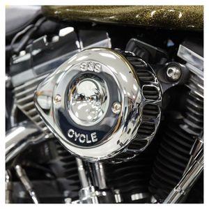 Ölfilter Hiflo Chrom Racing Harley-Davidson FLSTC Heritage Softail Classic