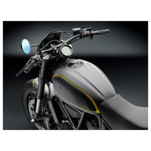 Rizoma Cafe Racer Gas Tank Cap Ducati Scrambler 2015 2019 Revzilla