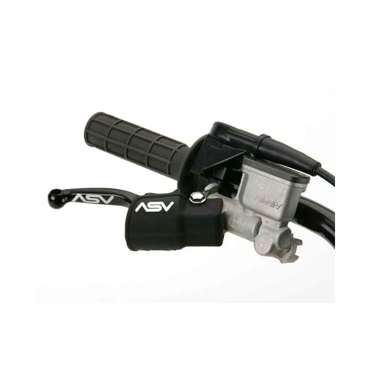 ASV Inventions FBDC01 Black Front Brake Dust Cover