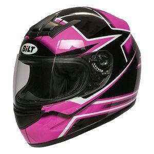 Mirrored Bilt Blaze Racer Face Shield