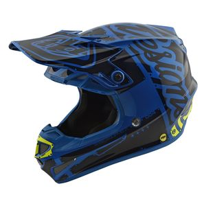 Troy Lee SE4 Factory Polyacrylite Helmet [Size SM Only]