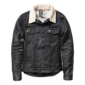 Saint Unbreakable Jacket With Detachable Shearling Collar