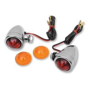 Drag Specialties Custom Bullet Marker Lights