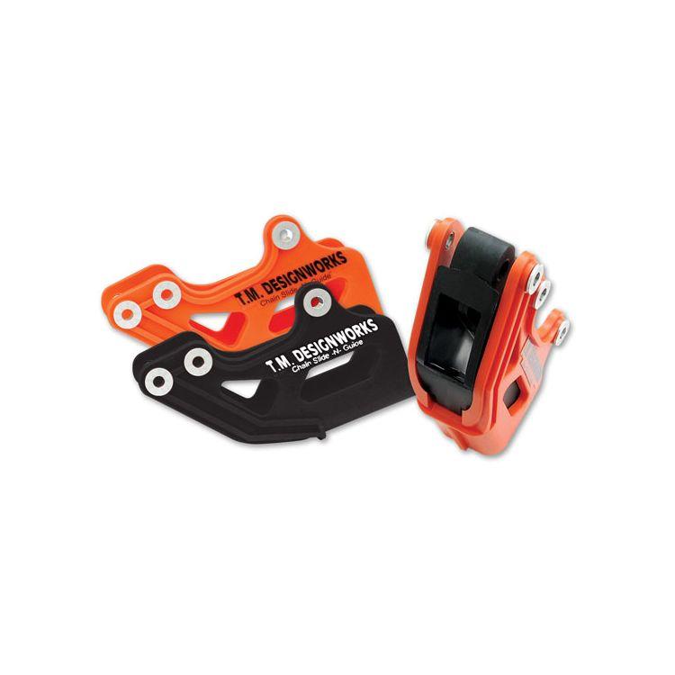 TM Design Works MX / OE Rear Chain Guide KTM / Husqvarna 85cc-525cc
