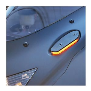 New Rage Cycles Mirror Block Off LED Turn Signals