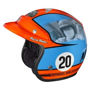 Troy Lee Open Face McQueen Helmet