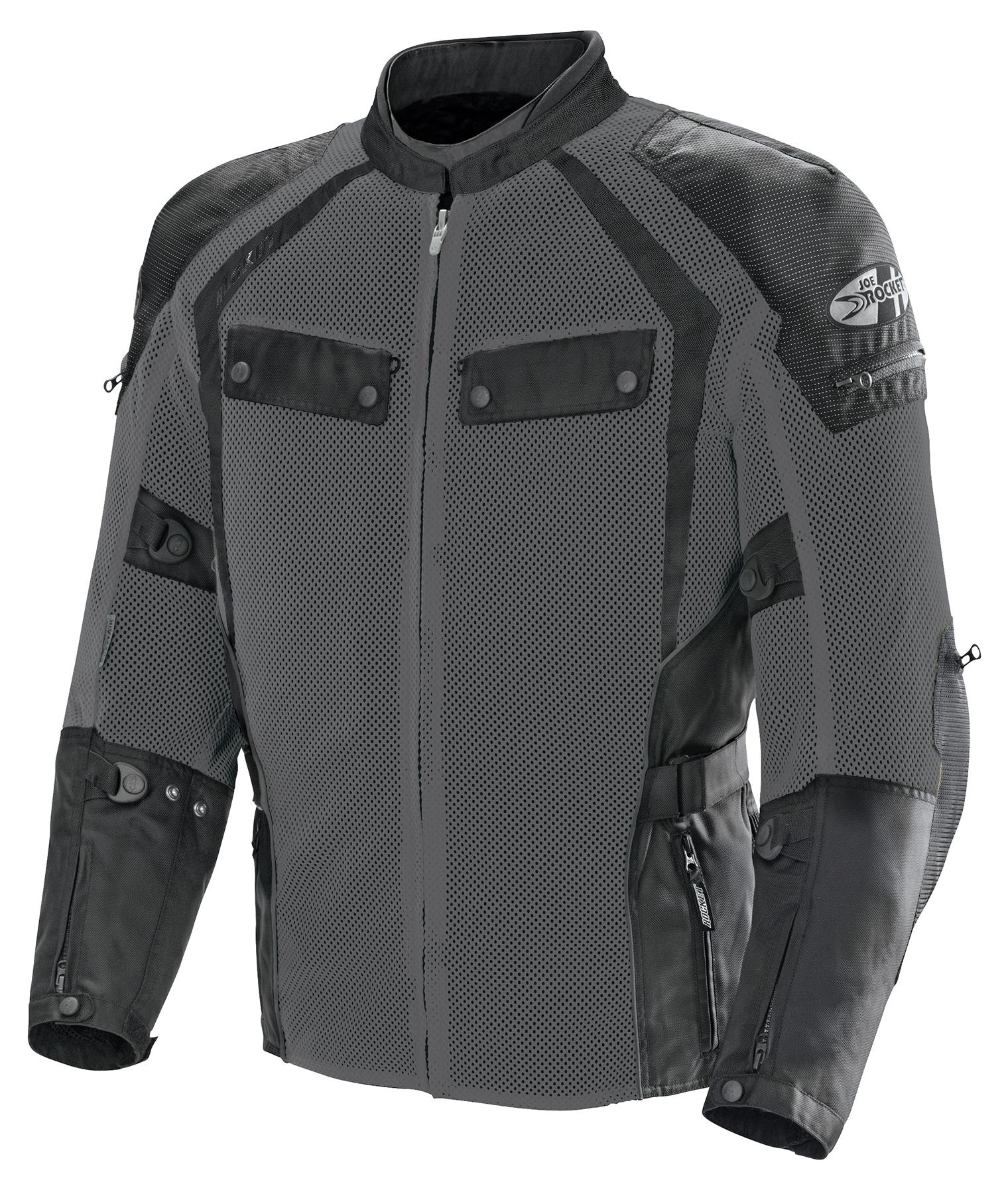 Joe Rocket Mens Atomic Ion Jacket Black, X-Large