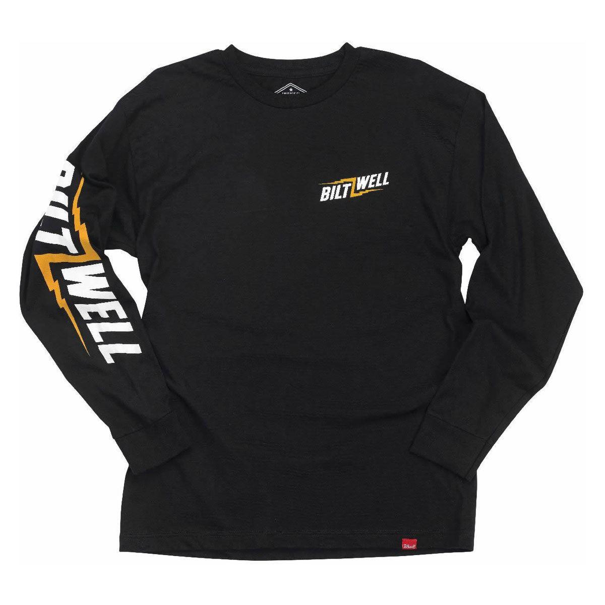 Biltwell Bolt Motorbike Motorcycle T-Shirt Black