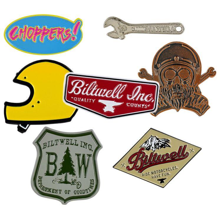 Biltwell Enamel Pin