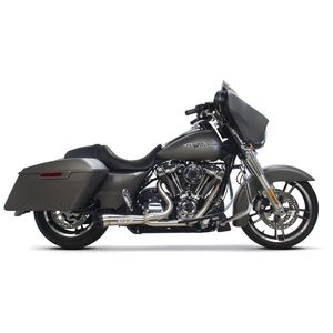 Two Brothers Bagger 2-Into-1 Shorty Exhaust For Harley Touring 2017-2018