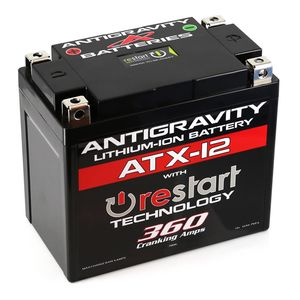 Antigravity ATX-12 ReStart 360CA Lithium Ion Battery