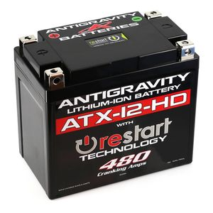 Antigravity ATX-12-HD ReStart 480CA Lithium Ion Battery