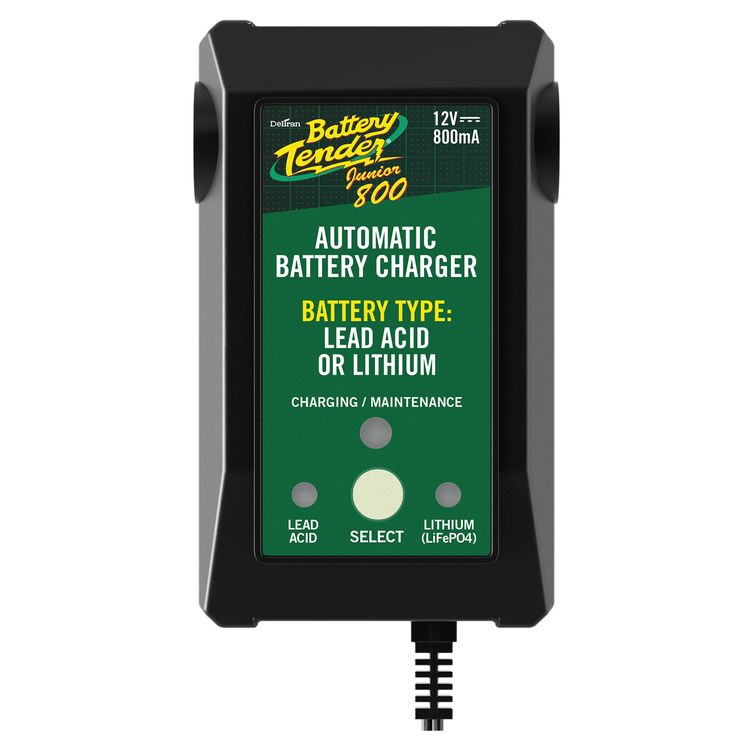 Battery Tender Junior Selectable Lead Acid/Lithium Charger