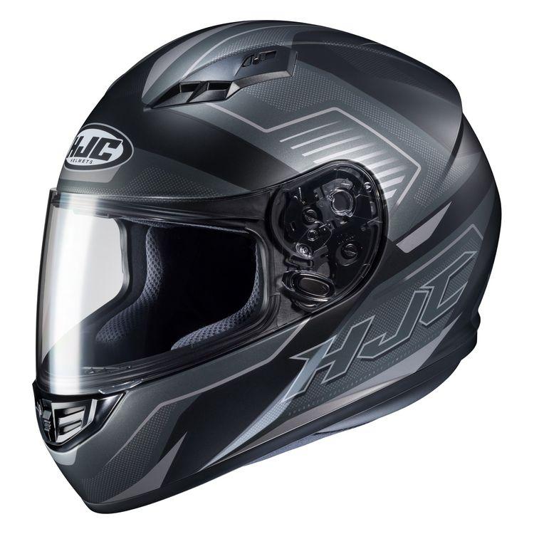 HJC CS-R3 Trion Full Face Helmet Flat Black Grey FREE SHIPPING