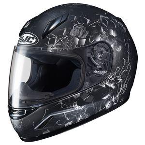 HJC CL-YSN Full Face Youth Snow Helmet Framed Dual Lens Shield Matte Black, Medium