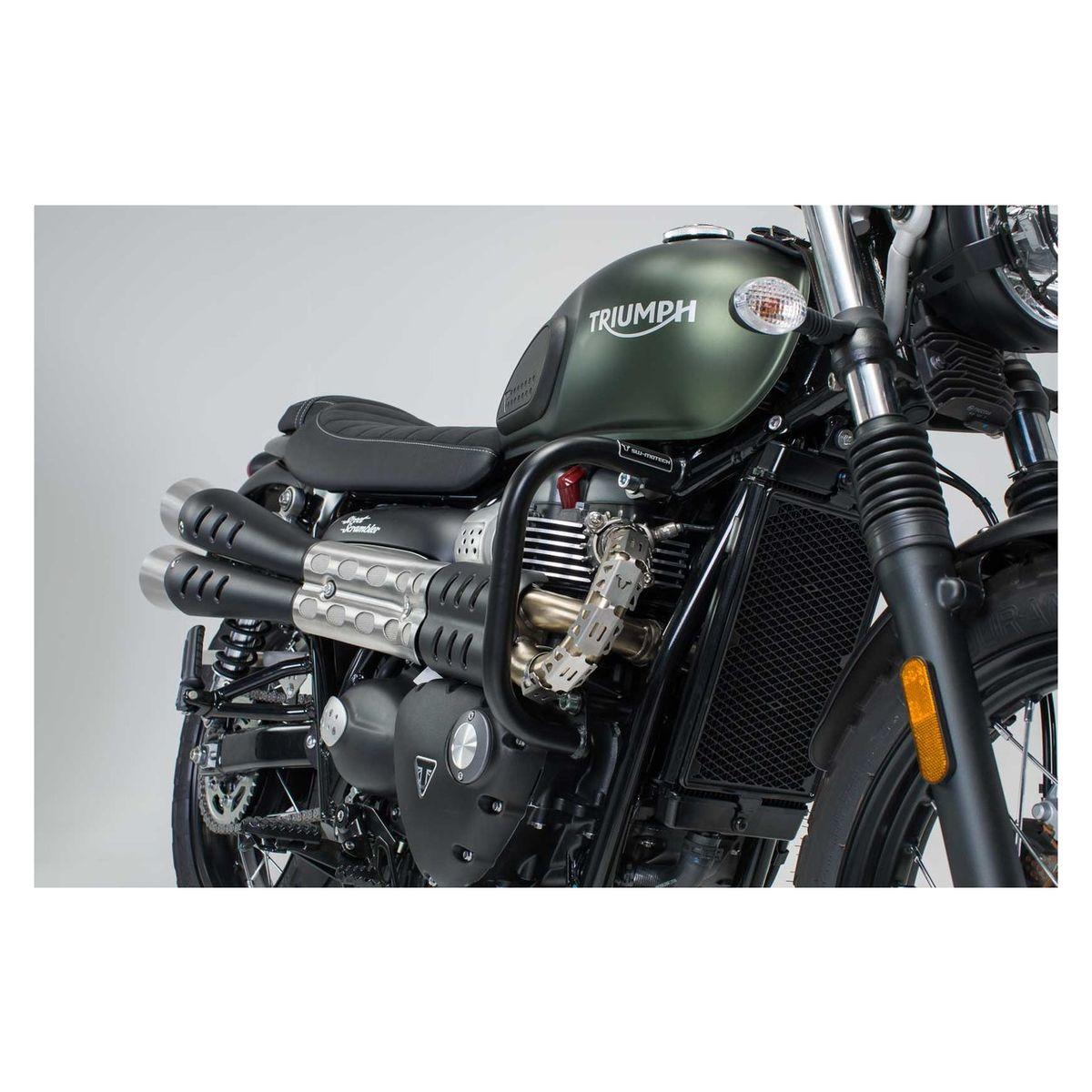 SW-MOTECH Sturzb/ügel 16- Schwarz f/ür Yamaha XSR 700