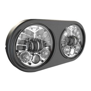 "J.W. Speaker 8692 Adaptive 2 LED 5 3/4"" Headlight For Harley Road Glide 1998-2013"