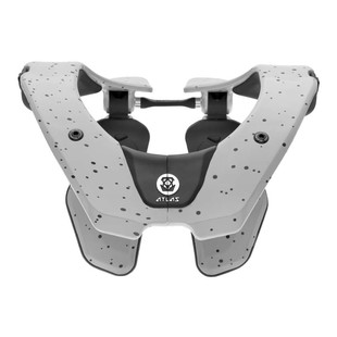 Atlas Air Neck Brace (Color: Ghost White / Size: LG)