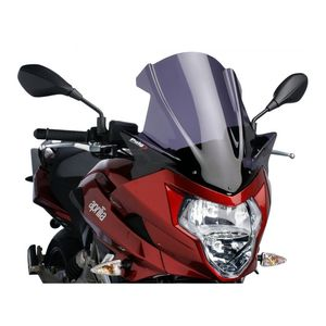 Puig Touring Windscreen Aprilia Shiver 750 GT 2009-2013 Dark Smoke [Previously Installed]