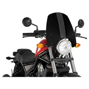 Puig Touring Naked New Generation Windscreen Honda Rebel 300 / 500
