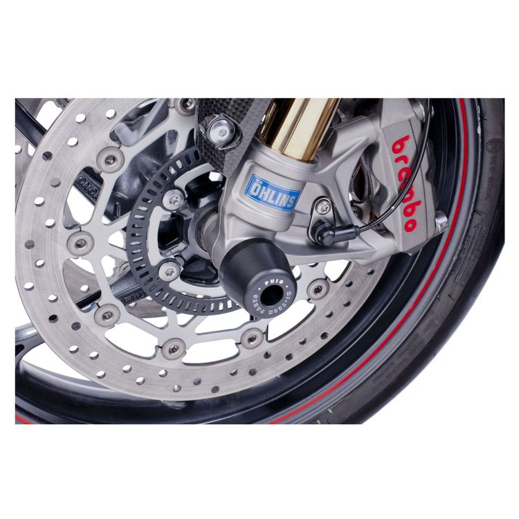 Puig Axle Sliders Front Ducati Scrambler 2015-2018