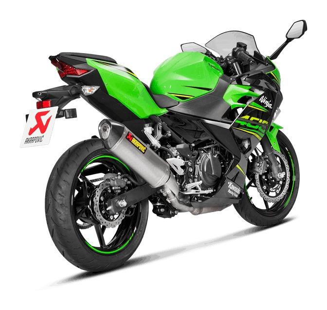 Akrapovic Homologated Slip-On Exhaust Kawasaki Ninja 400 / Z400 2018-2019