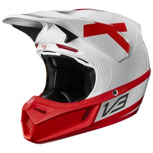 Fox Racing V3 Preest LE Helmet (MD)