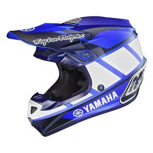 Troy Lee SE4 Polyacrylite Yamaha RS1 Helmet