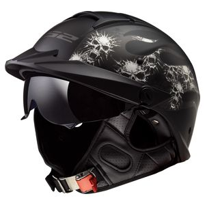 LS2 Rebellion Bones Helmet