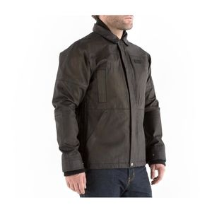 Knox Leonard Wax Jacket With Action Shirt