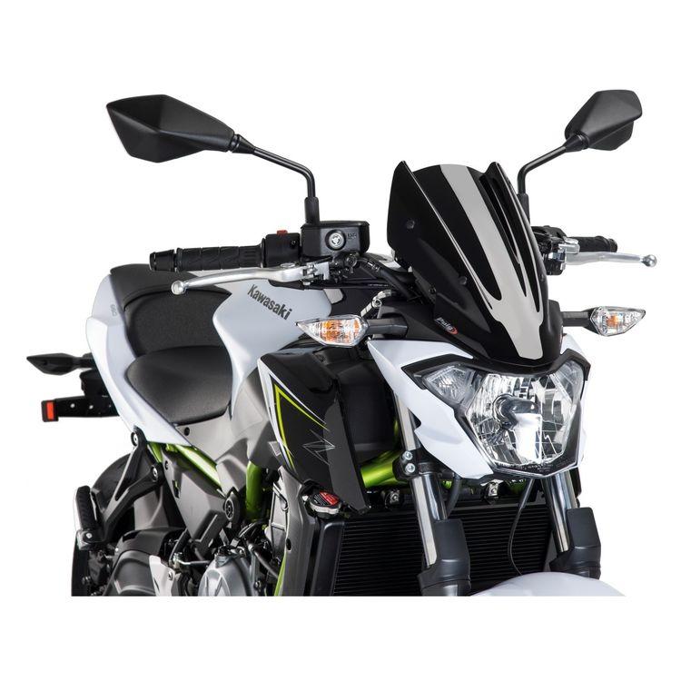Puig Naked New Generation Windscreen Kawasaki Z650 2017 2018