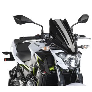 Puig Touring Naked New Generation Windscreen Kawasaki Z650 2017-2019