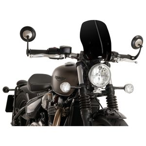 Puig Touring Naked New Generation Windscreen Triumph Bobber 2017-2020