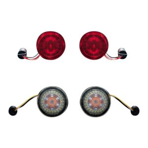 Custom Dynamics ProBEAM LED Turn Signal Conversion Kit For Harley 2011-2021