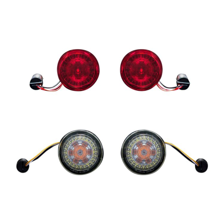 Custom Dynamics ProBEAM LED Turn Signal Conversion Kit For Harley