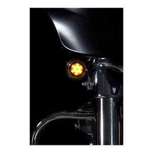 Custom Dynamics ProBEAM LED Front Turn Signal Inserts For Harley