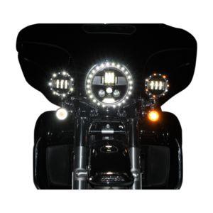 "Custom Dynamics ProBEAM LED 7"" Headlight"