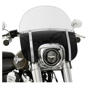 Memphis Shades Memphis Fats Windshield For Harley Softail Fat Boy 2018