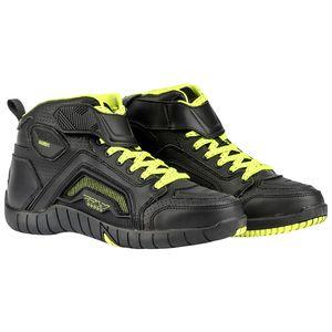 Joe Rocket 1387-1013 Atomic Mens Motorcycle Riding Boots//Shoes Black//Grey, Size 13