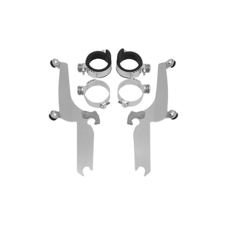 Memphis Shades Metric Sportshield Trigger-Lock Mount Kit Yamaha V Star Classic XVS1100A / XVS650A Pol... [Open Box]