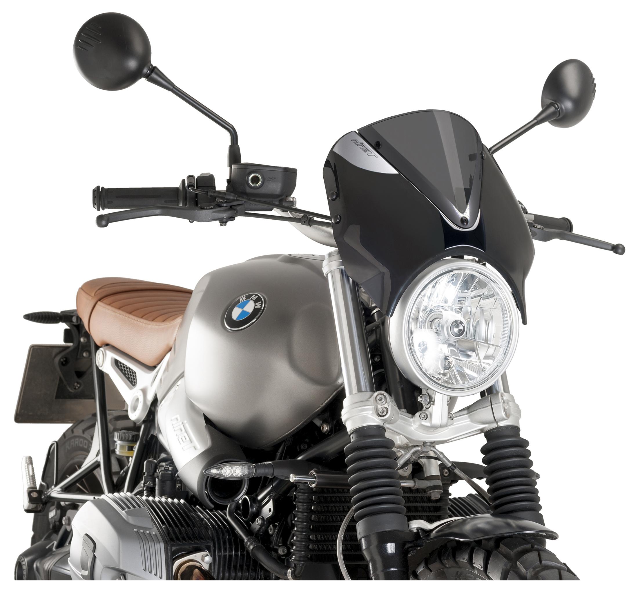 Puig BMW R Nine T Retro Aluminium Side Fairing Panels